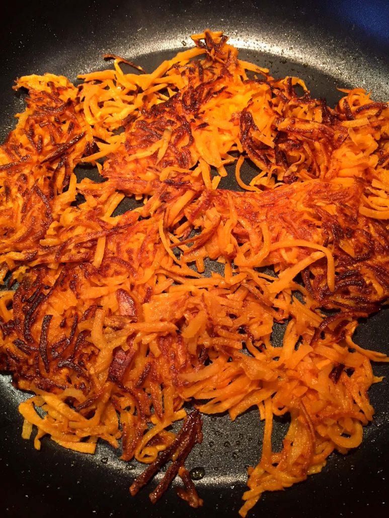 Sweet Potato Hashbrowns