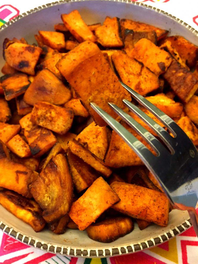 Easy Fried Sweet Potato Slices