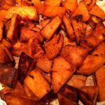 Easy Pan Fried Sweet Potatoes Recipe