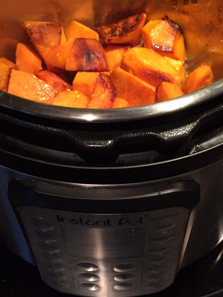Instant Pot Roasted Sweet Potatoes
