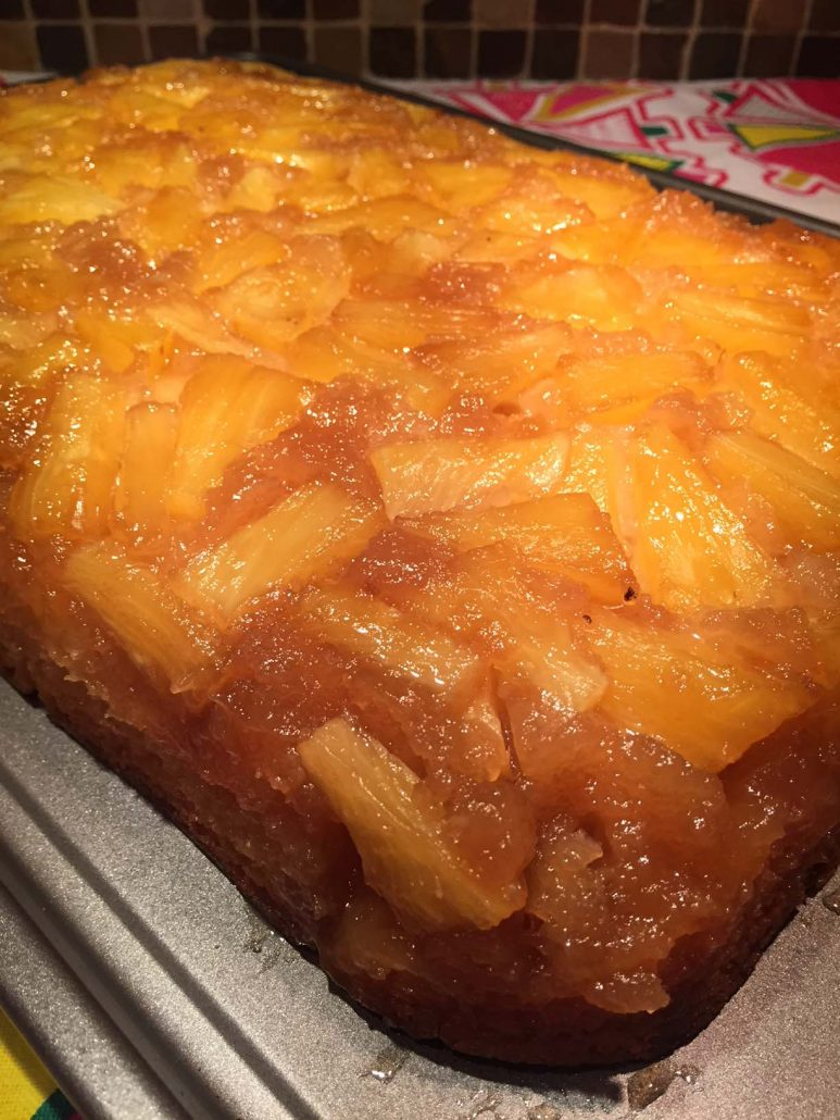 Pineapple Upside-Down Cake from scratch