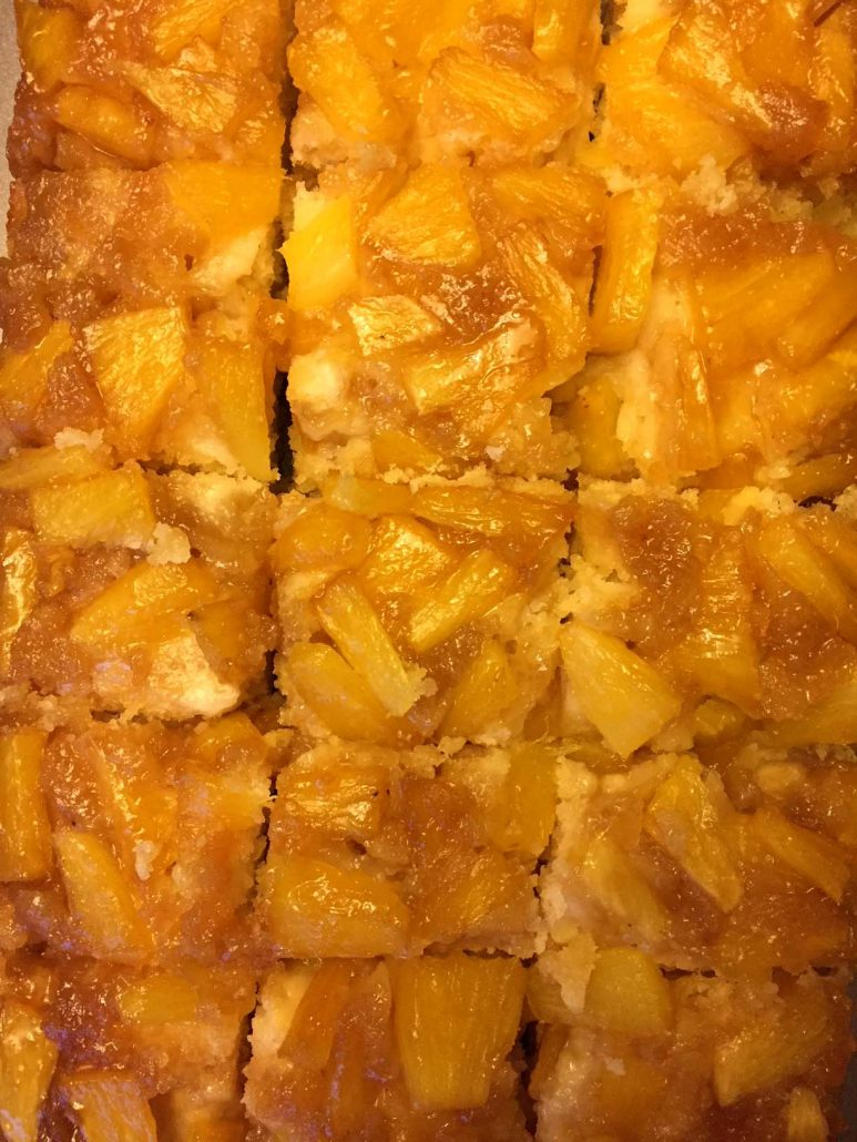 Fresh Pineapple Cake Recipe