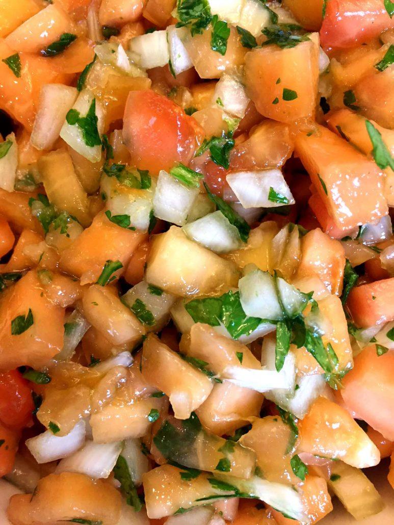 Easy Papaya Salsa