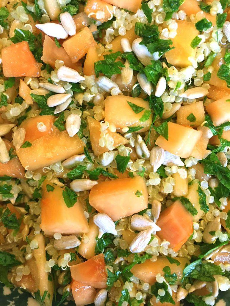 Papaya Quinoa Salad Recipe