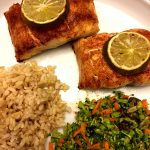 Baked Red Snapper Fillets With Chili and Lime
