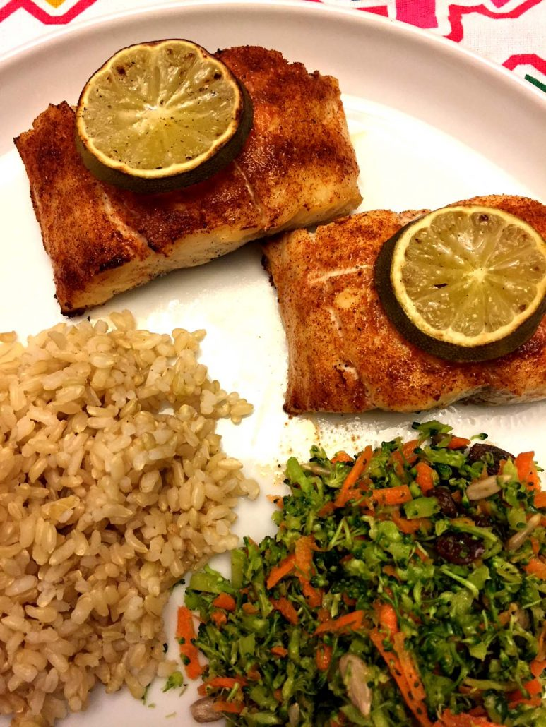 Baked Red Snapper