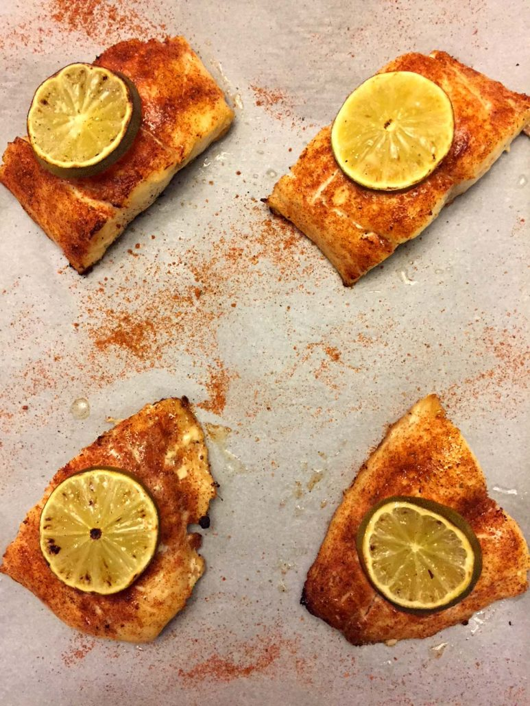 Chili Lime Baked Red Snapper Recipe