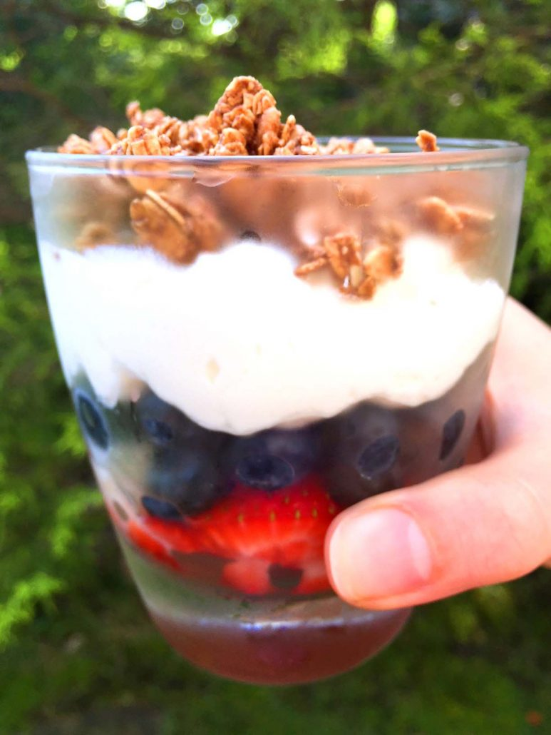 Fruit and yogurt parfait starbucks copycat recipe