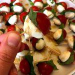 Caprese Salad Skewers Appetizer Bites