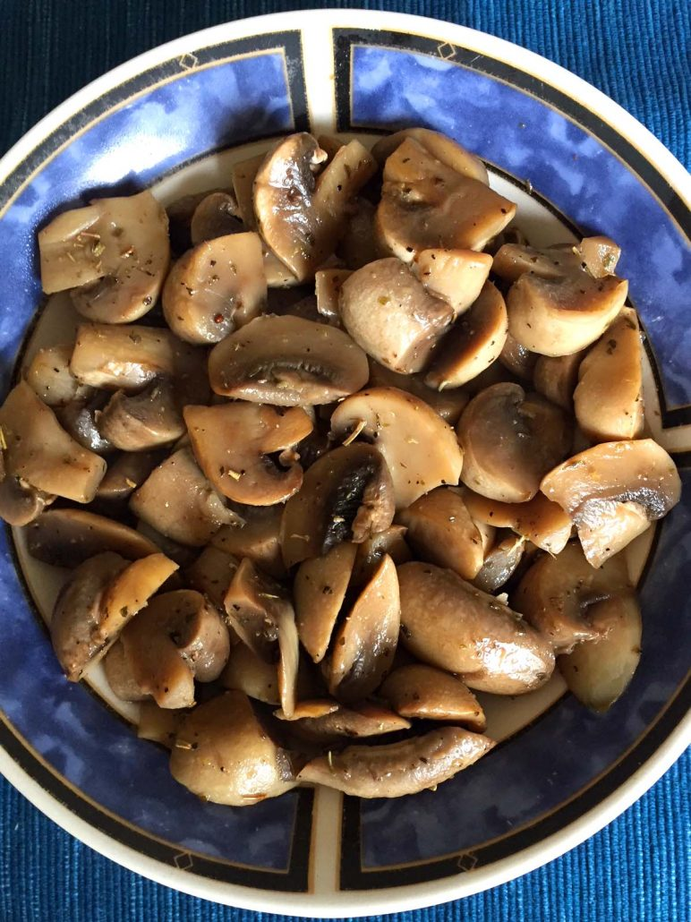 how to cook mushrooms in Instant Pot