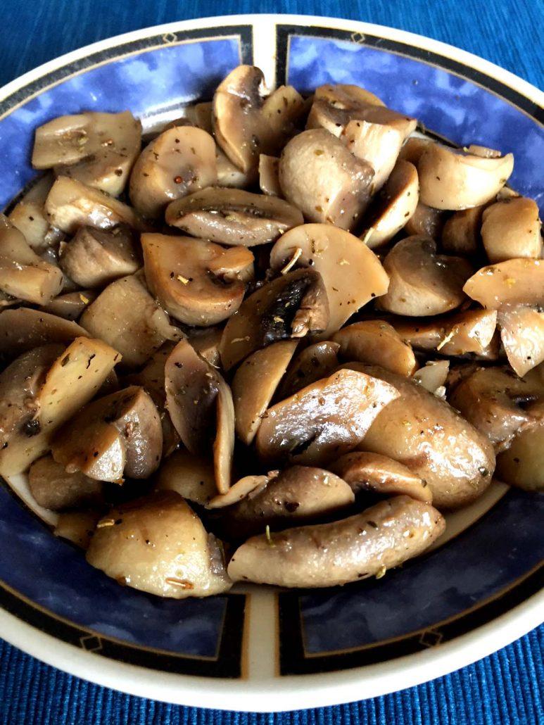Instant Pot Mushrooms
