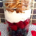 Low Carb Yogurt Breakfast With Berries And Nuts