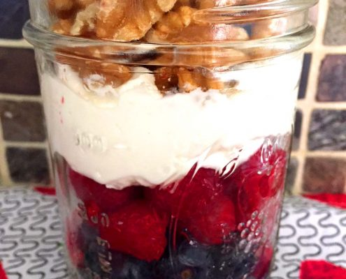 Low Carb Yogurt Breakfast