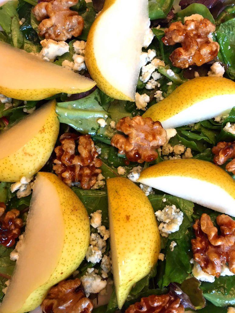 Pear Walnut Salad Recipe