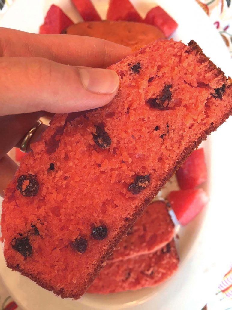 Watermelon Bread