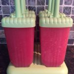 Watermelon popsicles no added sugar