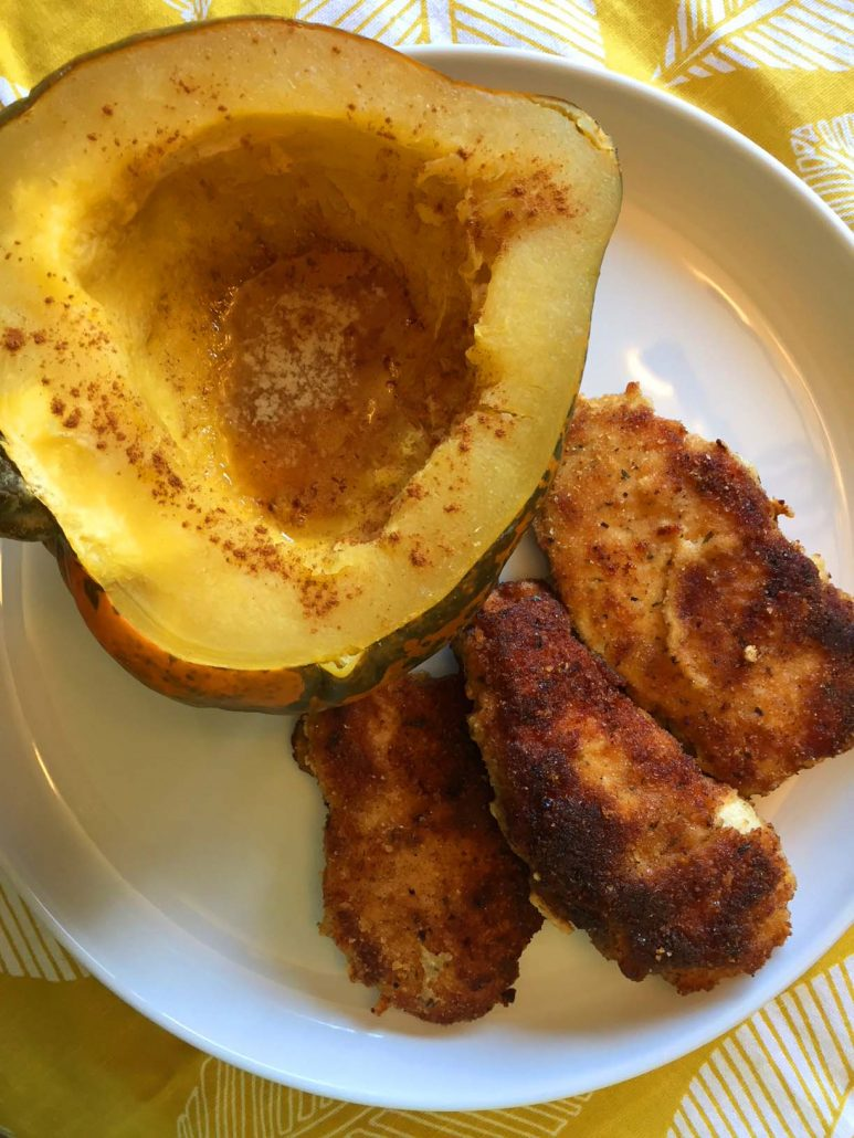 Acorn Squash Dinner