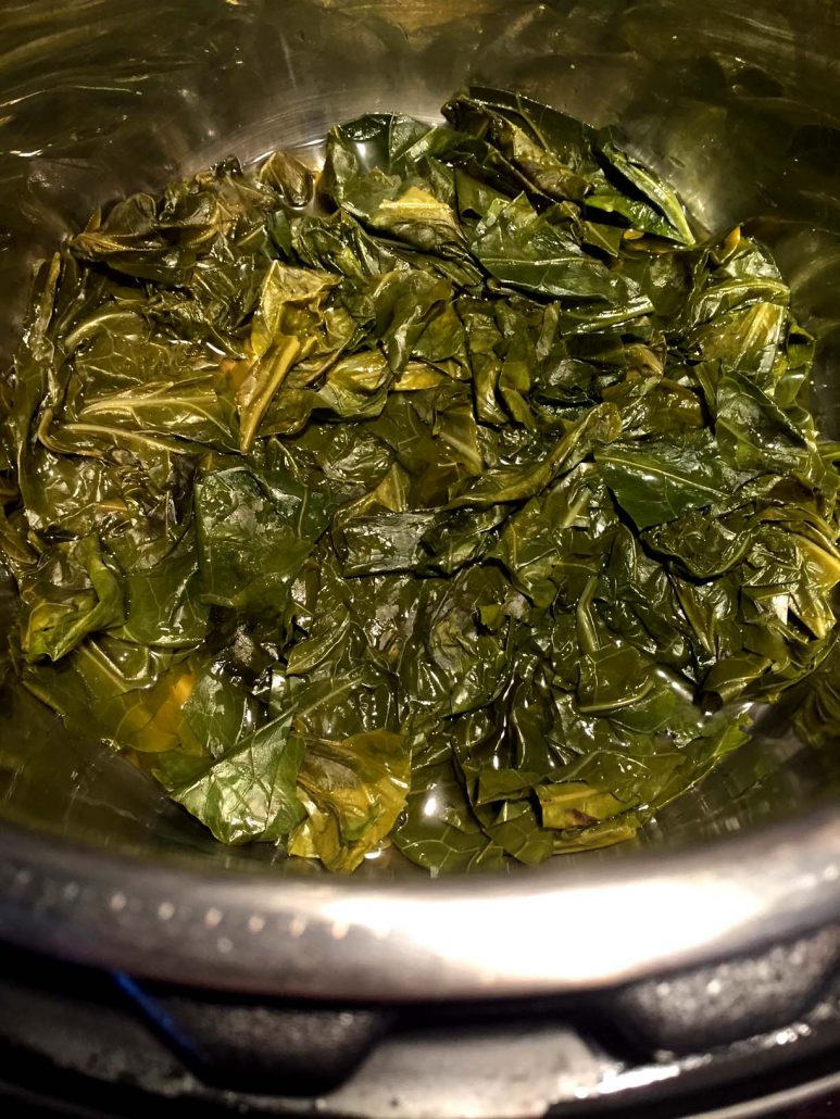 How To Cook Collard Greens In The Instant Pot