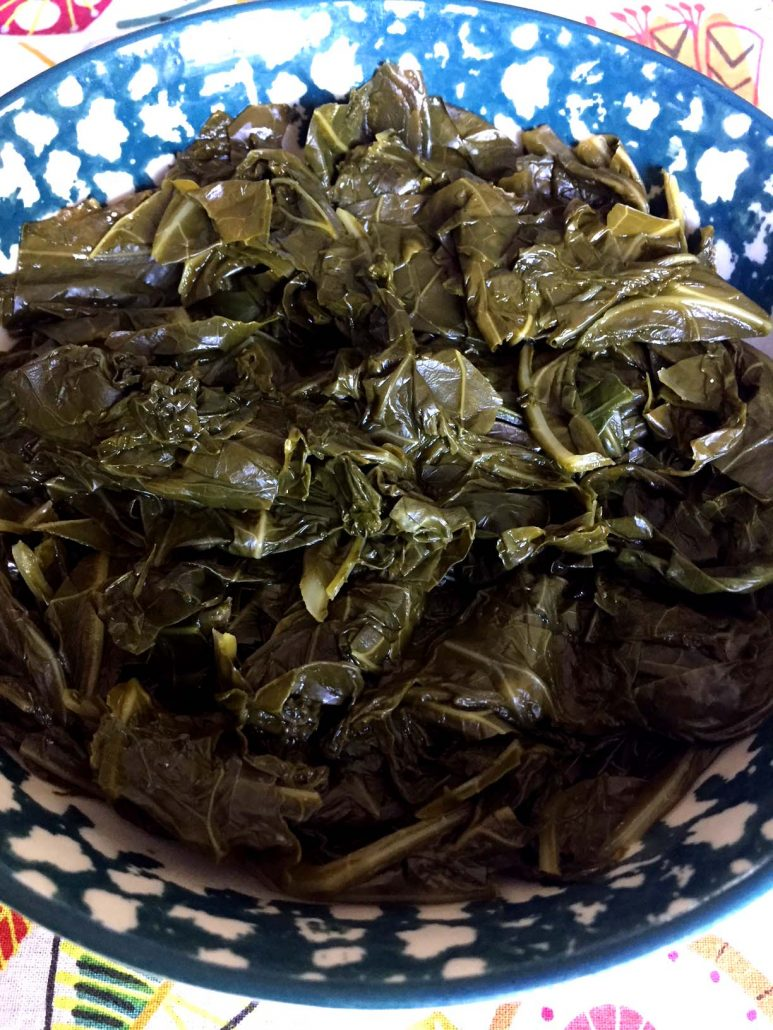 Southern Collard Greens Cooked In Instant Pot