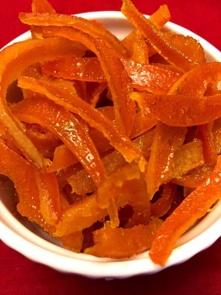 Instant Pot Candied Orange Peel