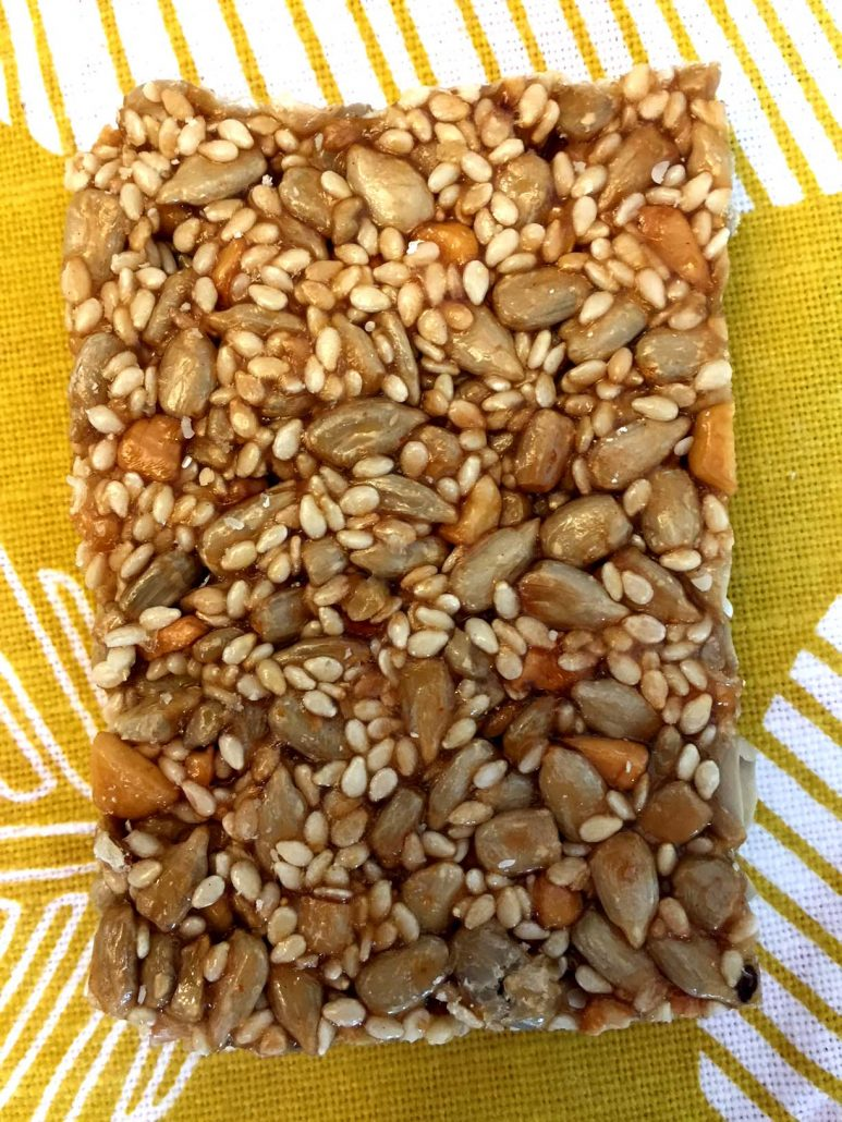 Sesame Honey Breakfast Bars