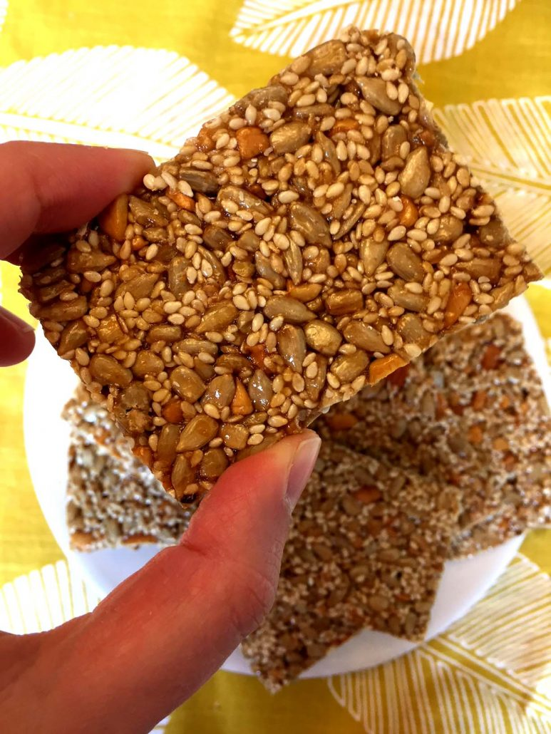 Sesame Seeds Energy Bars Recipe