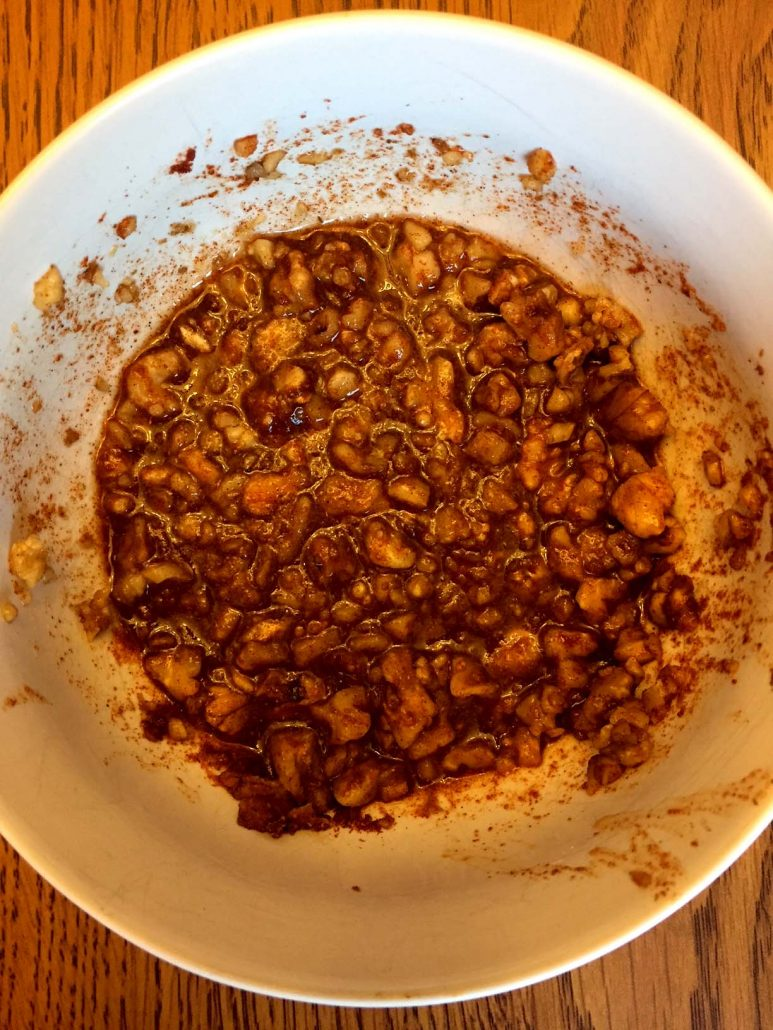 Walnut Sweet And Spicy Crust