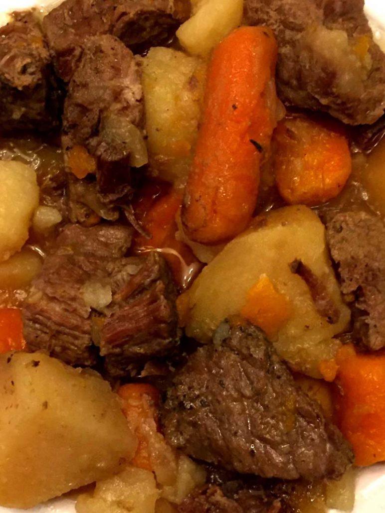 Instapot Beef Stew Recipe