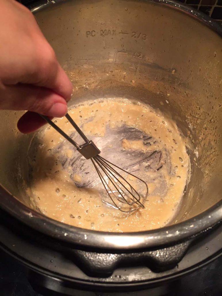 Rough for homemade gravy