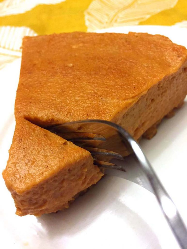 Instant Pot Pumpkin Pie Recipe