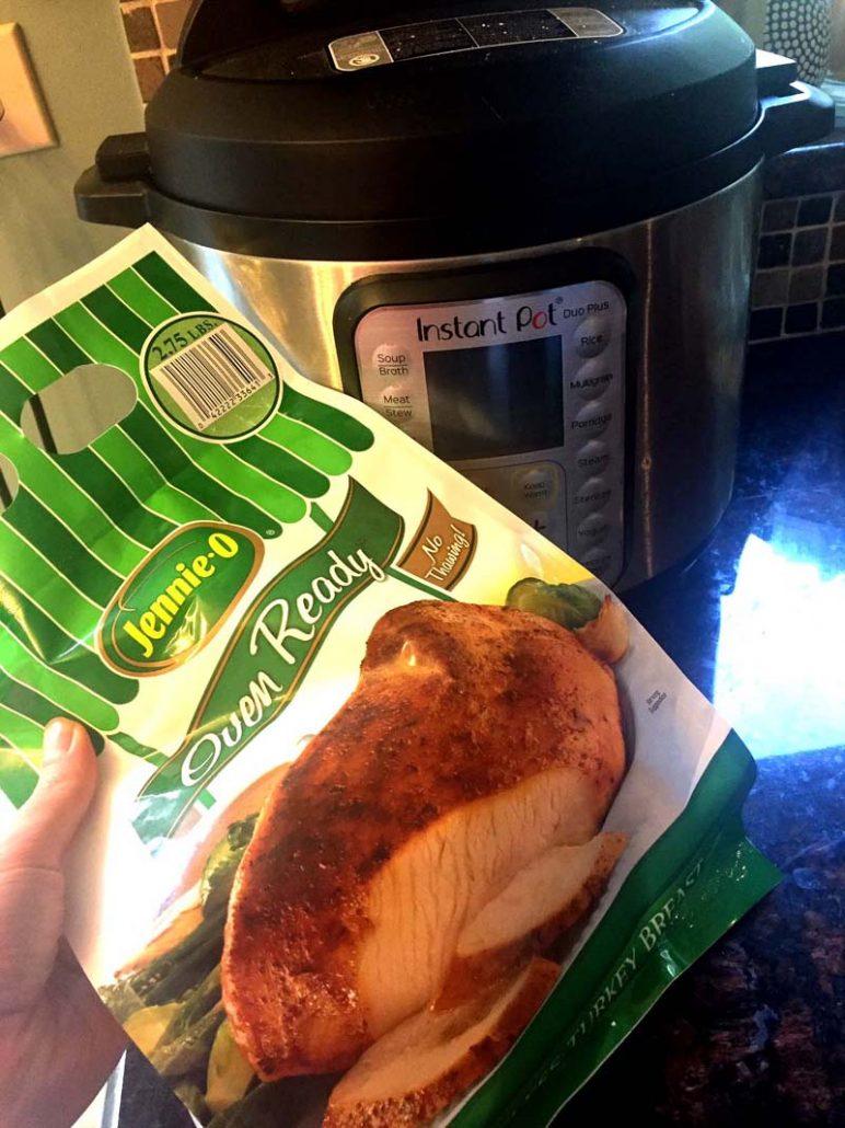 Instant Pot Frozen Turkey Breast