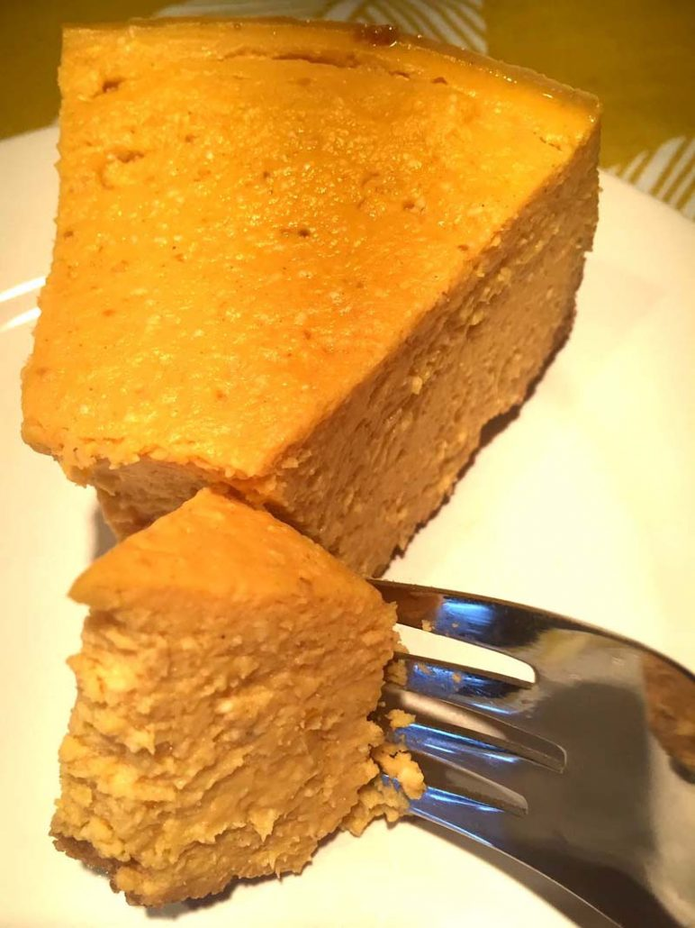Homemade Pumpkin Cheesecake In The Instant Pot