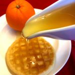 Orange Sugar Syrup Recipe For Pancakes And Drinks