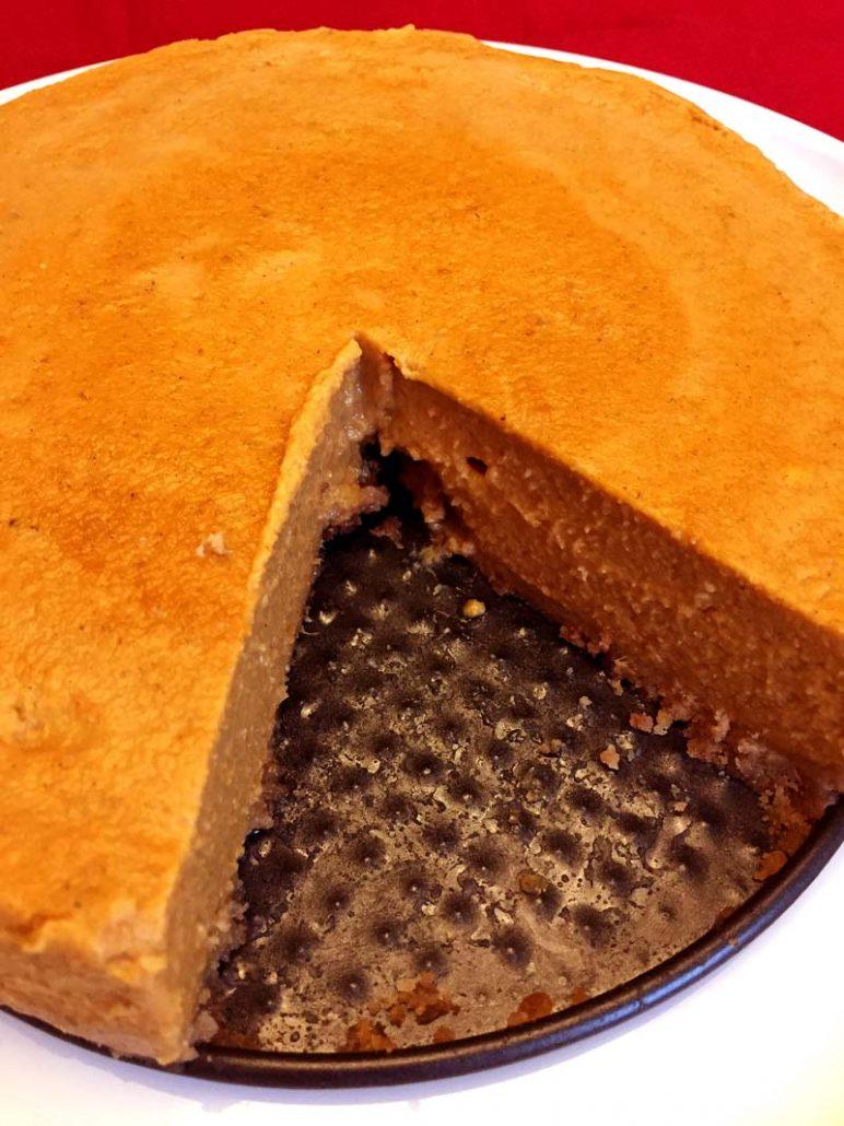 Instapot Sweet Potato Pie