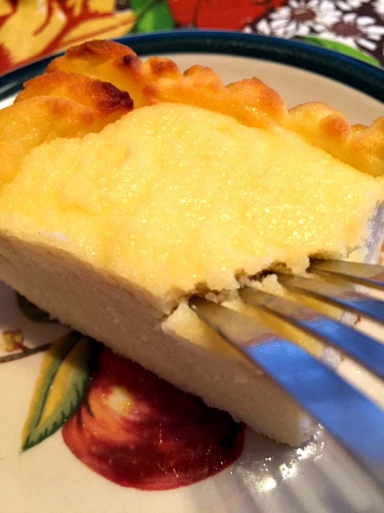 Lowcarb Gluten-Free Keto Ricotta Cake