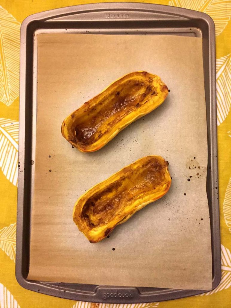 Roasted Delicata Squash In The Oven