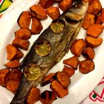 Baked Whole Branzino Fish (Mediterranean Sea Bass)