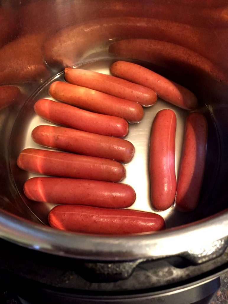 Hot Dogs In The Instant Pot