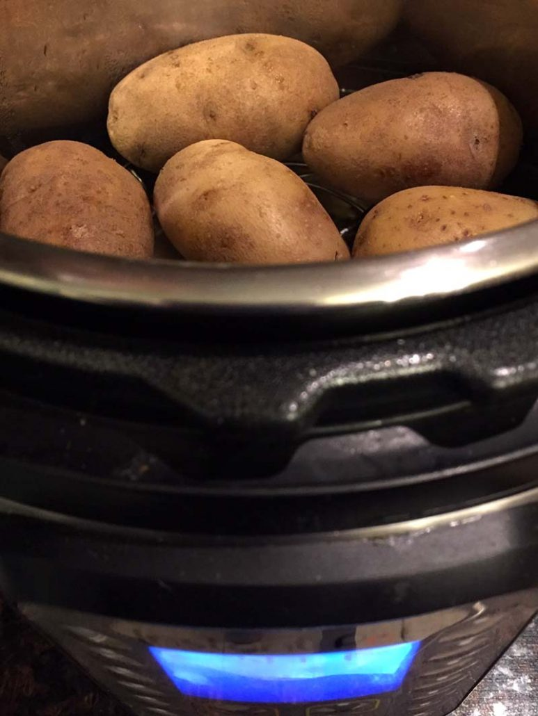 How To Cook Baked Potatoes In The Instant Pot