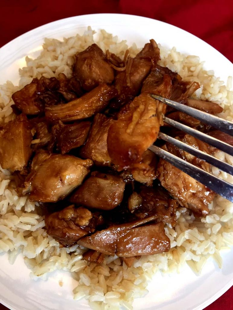Pressure Cooker Chicken Teriyaki