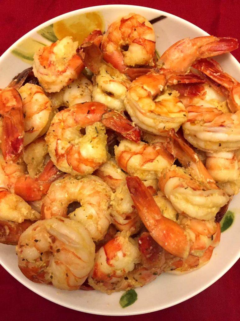 Easy Garlic Shrimp