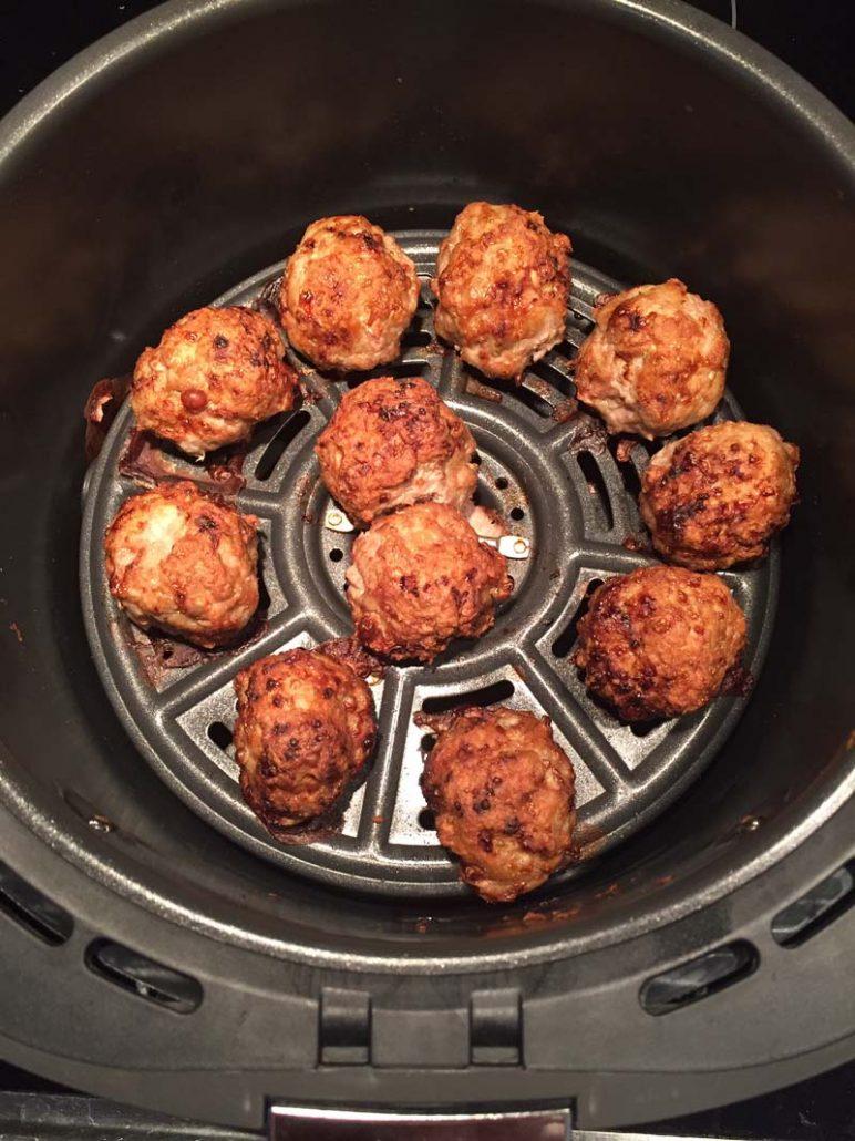 Air Fryer Meatballs Recipe