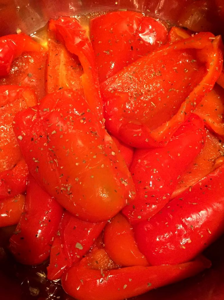 Pressure Cooker Bell Peppers