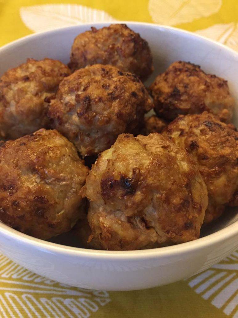 easy air fryer meatballs recipe