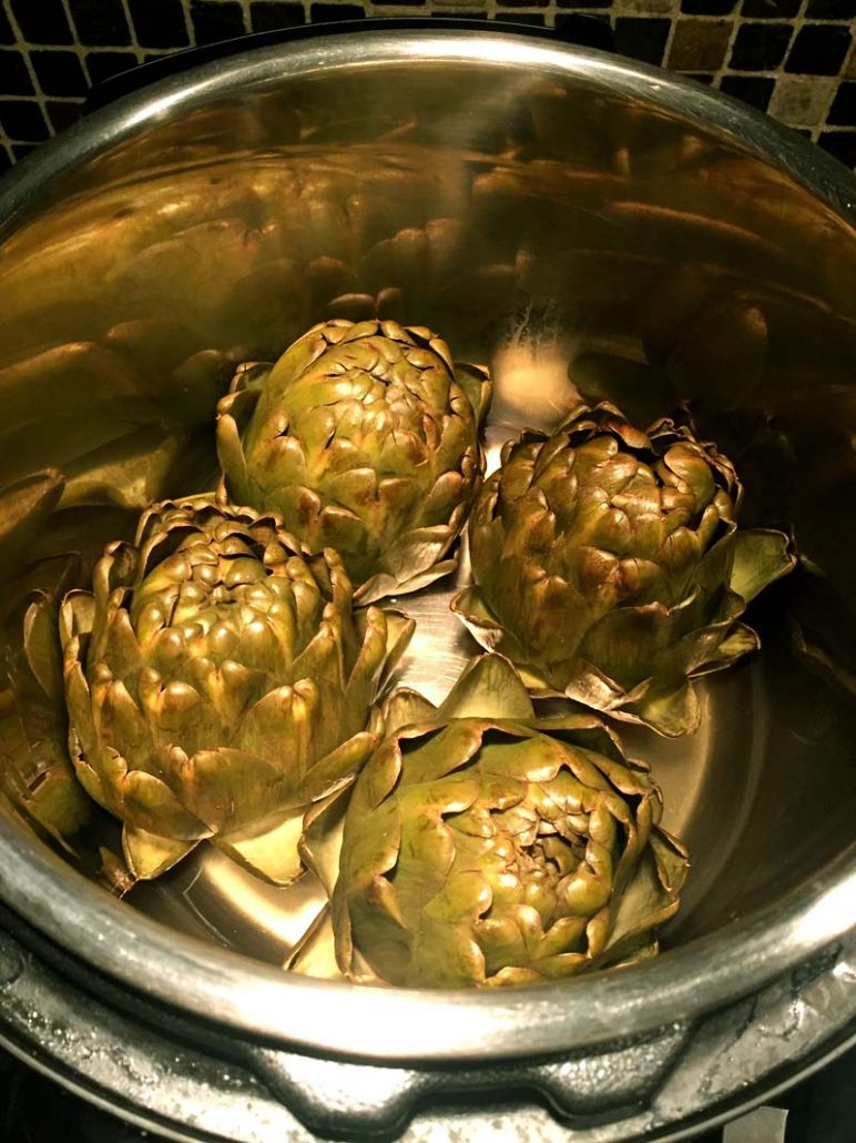Instant Pot Artichokes Recipe