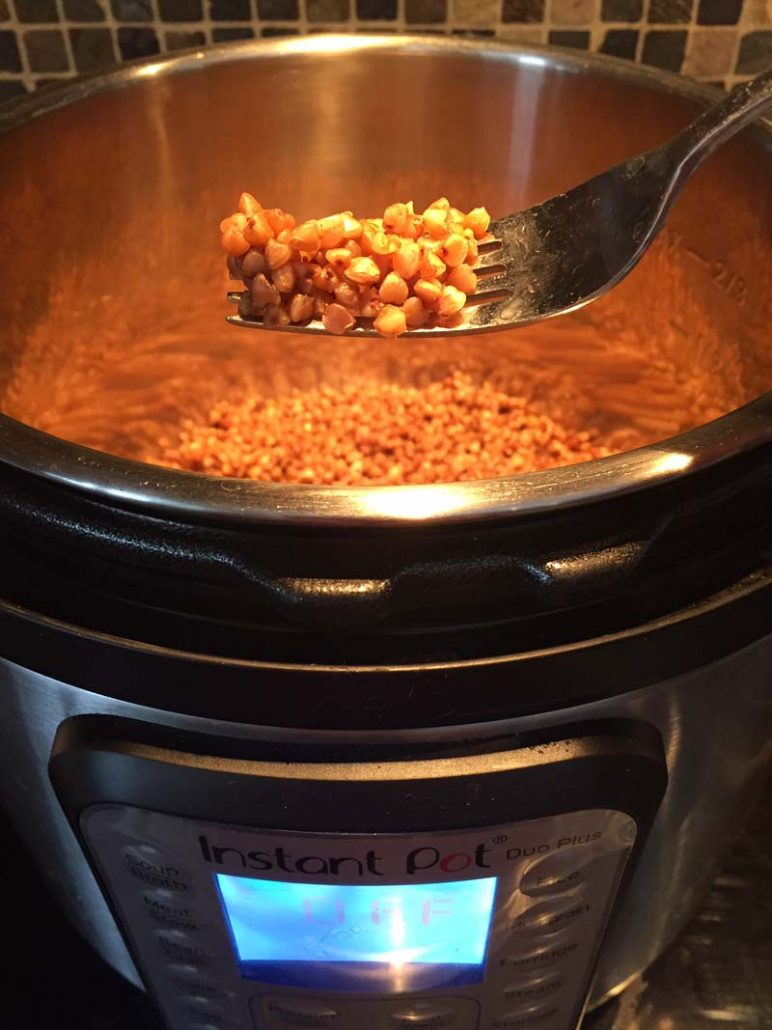 Instant Pot Buckwheat Cooking Time