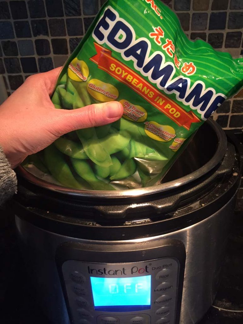 How To Cook Edamame In The Instant Pot