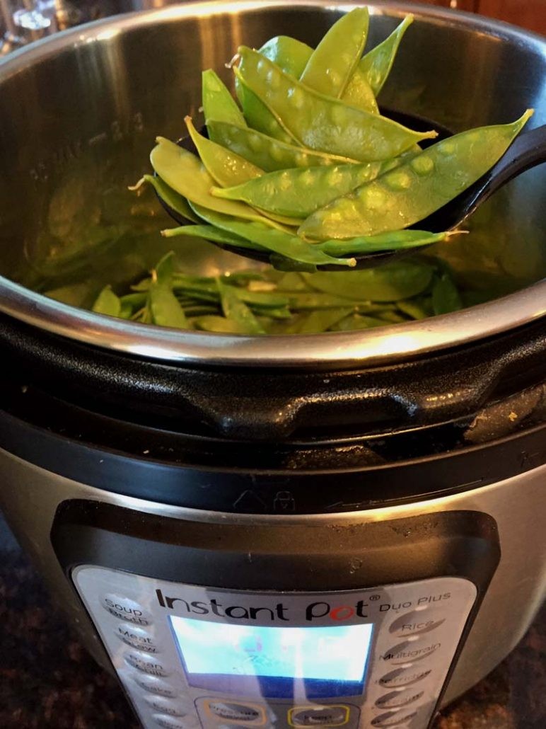 How To Cook Snow Peas In Instant Pot
