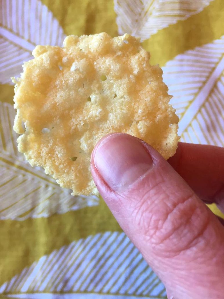 How To Make Baked Parmesan Crisps