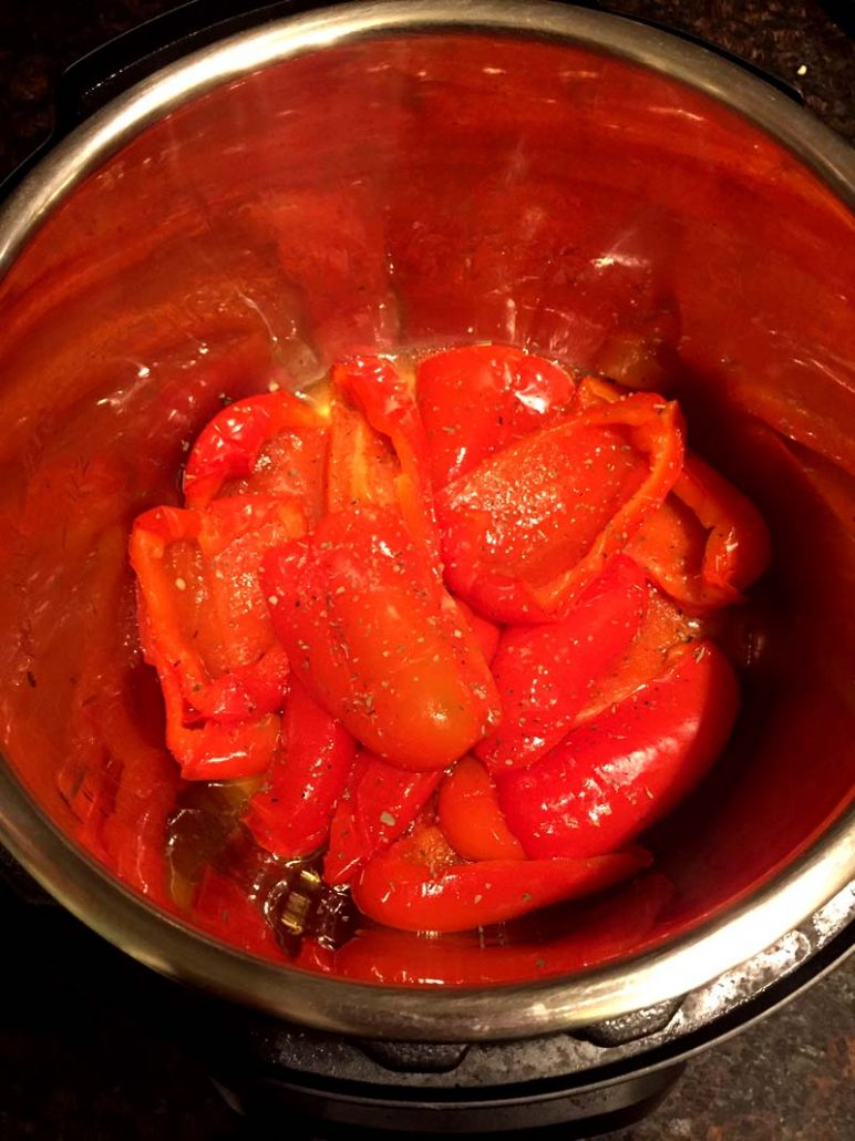 Bell Peppers In The Instant Pot